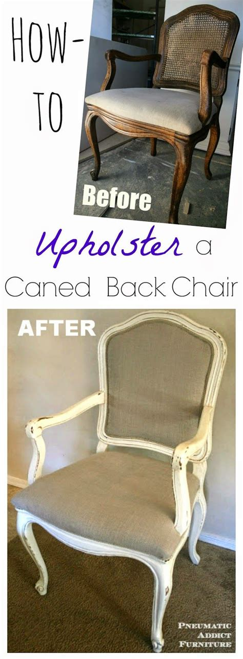 How To Upholster A Chair by How To Upholster A Caned Back Chair Www Pneumaticaddict