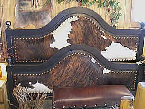 Cowhide Headboards by Images Of Cowhide Headboard Wood And Cowhide Beds