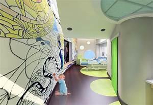 RS&H Inc designs bright, colorful pediatric cancer care center