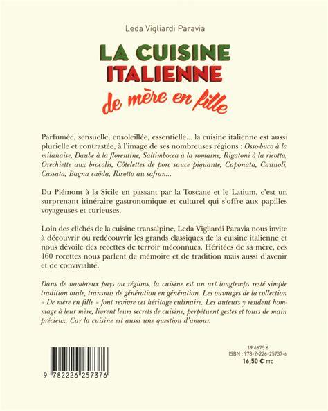 livre de cuisine italienne livre la cuisine italienne de mère en fille messageries adp