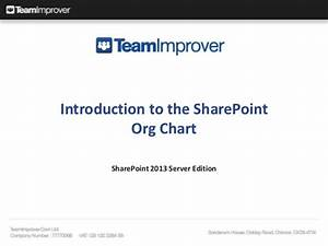 Teamimprover Organisation Chart Web Part For Sharepoint 2013