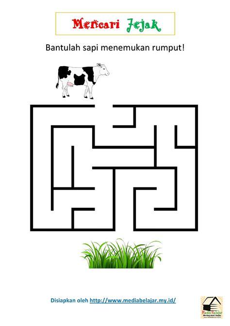 mencari jejak bantulah sapi menemukan rumput