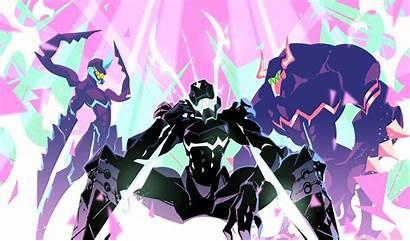 Promare Anime Burnish Lio Fotia Meis Cyberpunk