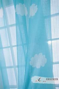 voilage chambre bb garon simple nuages annemarie With tapis chambre bébé avec grossiste fleurs artificielles pas cher
