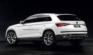 Skoda Kodiaq Dimensions : skoda 39 s once unlikely suv coupe is real and it might look like this autoevolution ~ Medecine-chirurgie-esthetiques.com Avis de Voitures