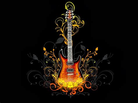Animated Guitar Wallpaper - animated guitar wallpaper