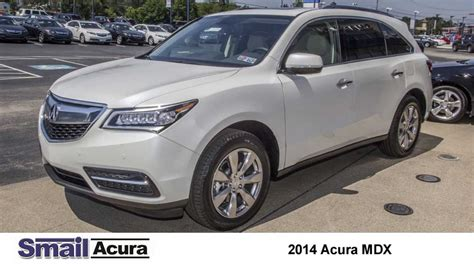 2014 Acura Mdx Advance Package