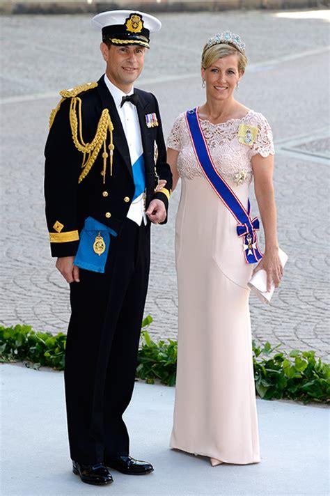 prince edward  sophie wessex  attend swedish royal