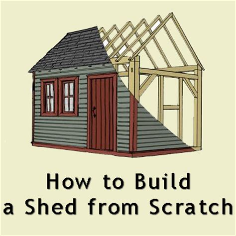 how to build a shed diy do it yourself home improvement hobbies garden
