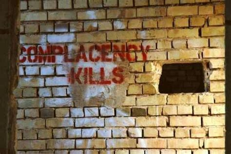 complacency kills corporate culture project management