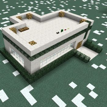 simple quartz modern house blueprints  minecraft houses castles towers   grabcraft