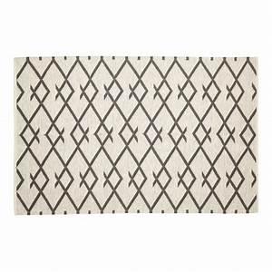 Tapis Scandinave Gris : tapis scandinave nordique coton gris naturel hubsch 810305 ~ Teatrodelosmanantiales.com Idées de Décoration