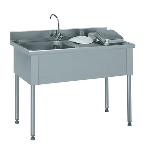 robinet avec douchette pour cuisine tournus equipement plonge inox emboutie