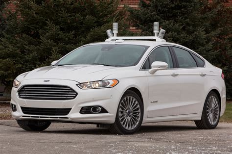 Ford Fusion Hybrid Research Vehicle