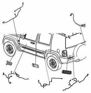 Jeep Liberty Wiring  Jumper  Power Door Lock  Handle
