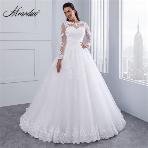 Miaoduo Ball Gown Wedding Dresses 2018 New Detachable