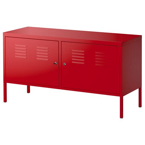 Ikea Ps Cabinet Red 119x63 Cm Ikea