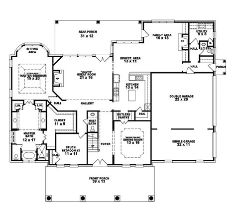 melrose southern plantation home plan   house plans