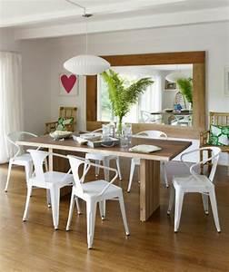 Table Cuisine Moderne : coin repas cuisine grand et confortable d 39 inspiration nordique ~ Teatrodelosmanantiales.com Idées de Décoration