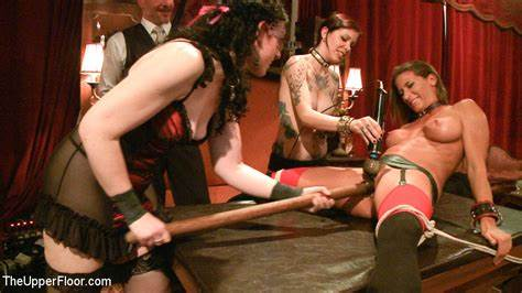 Drilled By The Mean Masters Krysta Kaos And Her Foreigner Pulls By Pliant Masters