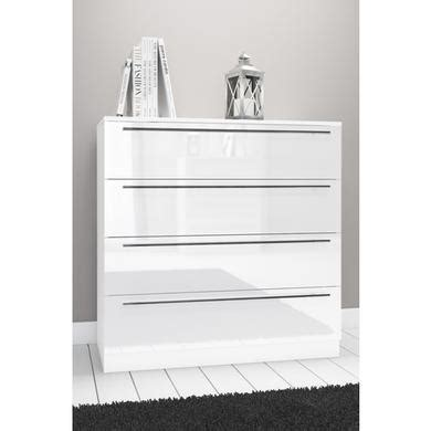 space white high gloss  drawer chest  drawers