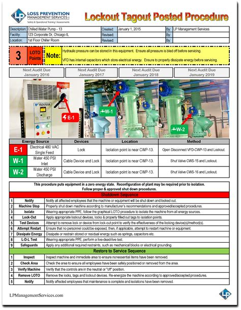images  electrical lockout tagout log sheet template