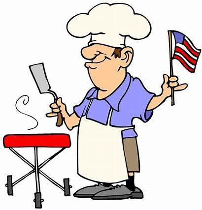 Chef Clip Cliparts Bbq Funny Clipart Barbecue