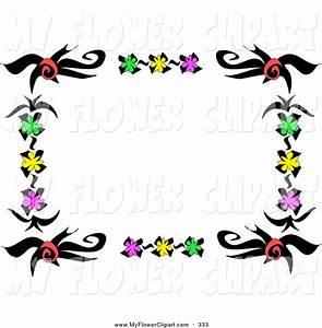 Frame Design Flower Clipart (50+)