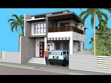 small modern  level house  interior walkthrough youtube