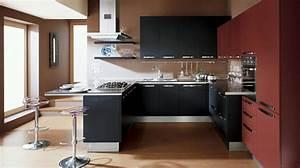idees deco pour une petite cuisine ouverte design feria With petite cuisine ouverte design