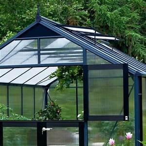 Serre De Jardin Polycarbonate : serre de jardin 8 8m aluminium et polycarbonate 10mm ~ Dailycaller-alerts.com Idées de Décoration