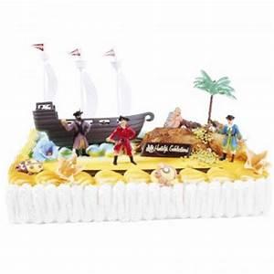 Deco Anniversaire Pirate : kit de d coration g teau pirates pour l 39 anniversaire de votre enfant annikids ~ Melissatoandfro.com Idées de Décoration