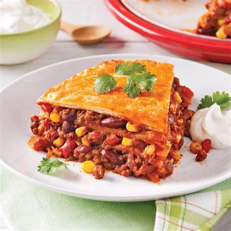 cuisine lasagne lasagne mexicaine végétarienne recettes cuisine et