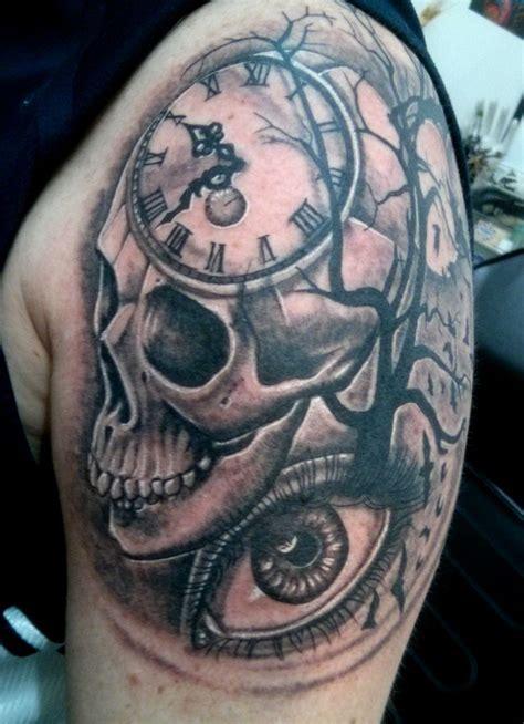 clock tattoo truetattoos