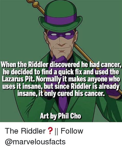 Riddler Meme 25 Best Memes About Riddler Riddler Memes