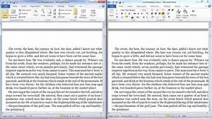 View two documents side by side in word youtube for 2 word documents side by side