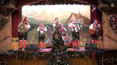 epcot germany biergarten christmas show highlights