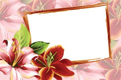 Royalty Free Flower Frame Pink Rose Shabby
