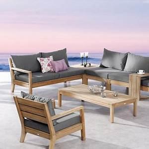 Loungemöbel Holz Outdoor : gartenlounge outdoorm bel aus teakholz direkt vom fachh ndler ~ Indierocktalk.com Haus und Dekorationen