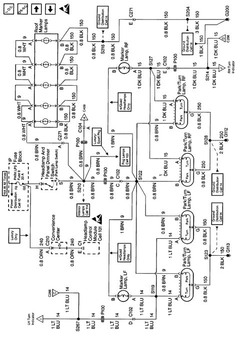 1999 Suburban Wiring Diagram by Need Wiring Diagram For 1999 Suburban Park Lights And Or I