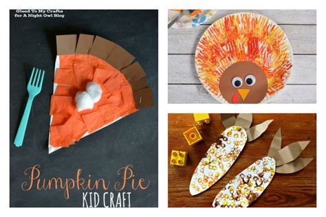 8 and easy thanksgiving crafts for cool 271 | Thanksgiving crafts