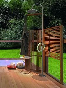 Sichtschutz Für Gartendusche : pin von wellness wellness und saunazubeh r auf sichtschutz und ideen f r sitzecken ~ Frokenaadalensverden.com Haus und Dekorationen