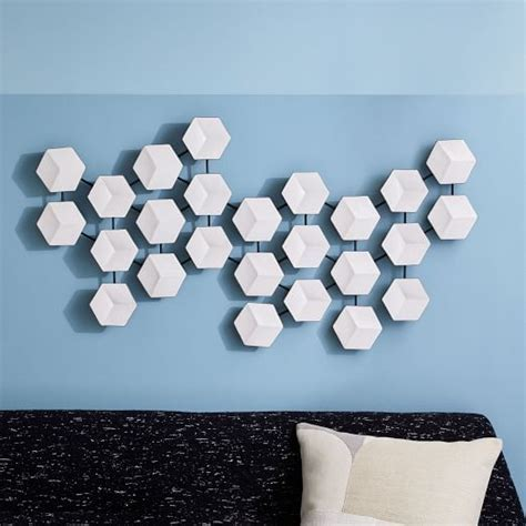 Geometric Ceramic Tile Art   west elm