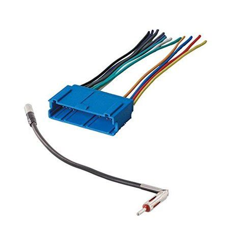 car stereo cd player wiring harness wire adapter plug