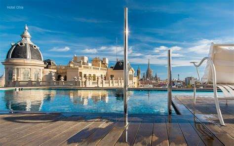 hotels piscine barcelone