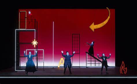 robert wilsons  sandman opera   rom goth riot