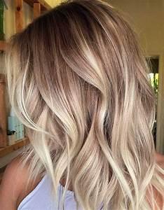Ombre Hair Blond Polaire : ombr hair beige ombr hair les plus beaux d grad s de couleur elle ~ Nature-et-papiers.com Idées de Décoration