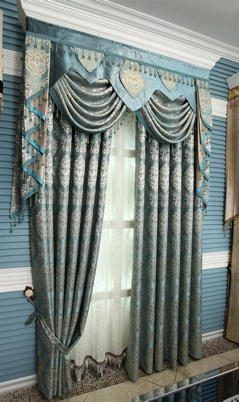 Quality Curtains And Drapes - free shipping luxury curtain gold quality