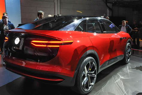 2020 Electric Volkswagen by L A Auto Show Electric Volkswagen I D Crozz Suv Coming