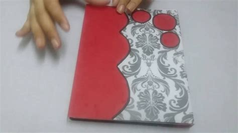 Idea For Kitchen Decorations - how to decorate a book cover youtube